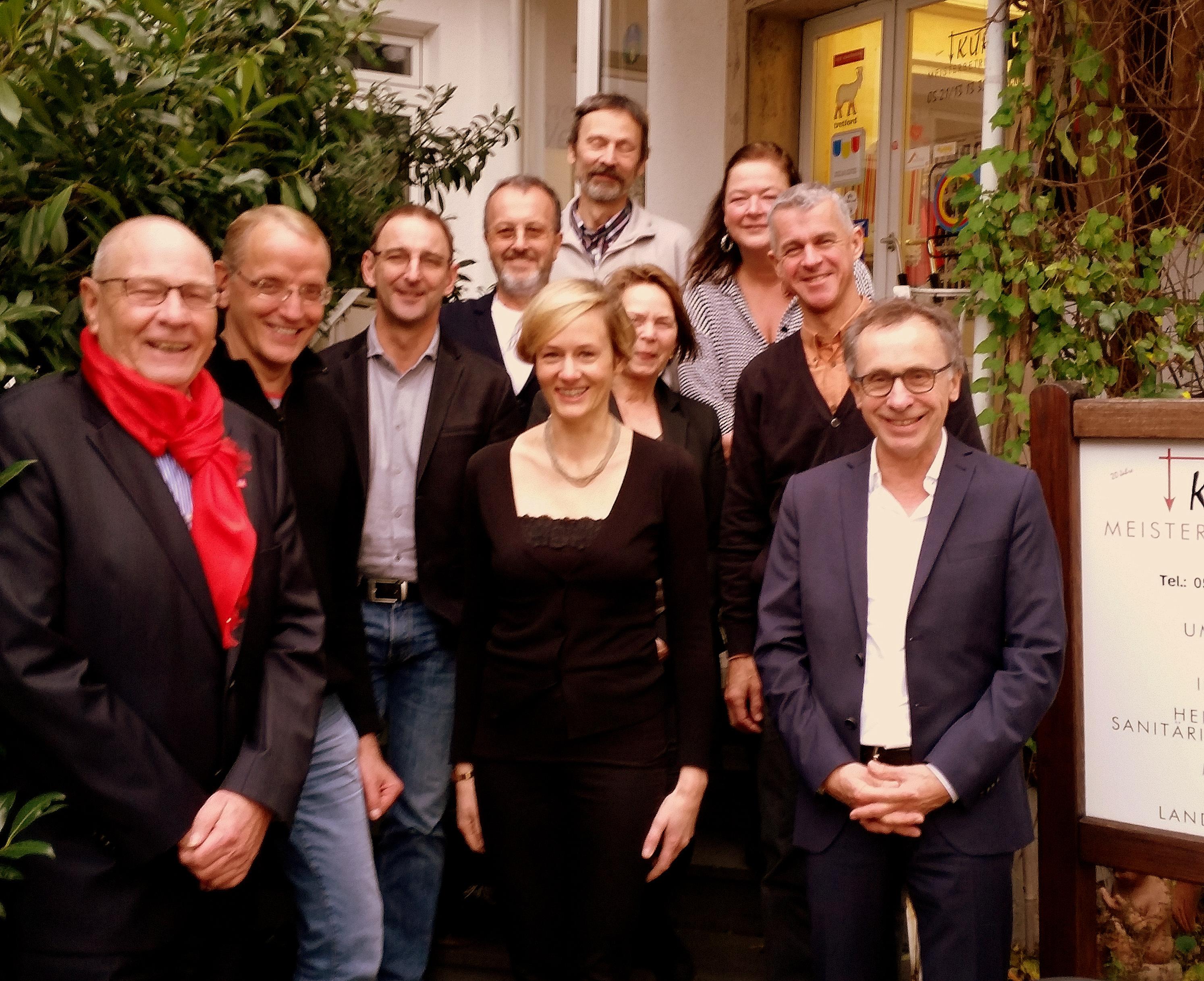 AGBI bei Kurz Um mit Christina Kampmann und Guenter Garbrecht